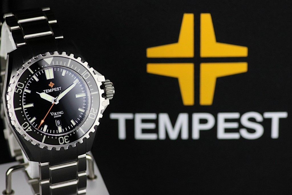 Tempest micro brand watch title