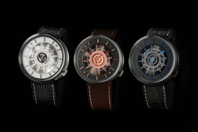 zelos cosmos micro brand watch 3 dials