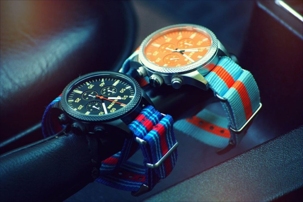 Straton Watch Co. Vintage Driver Chrono
