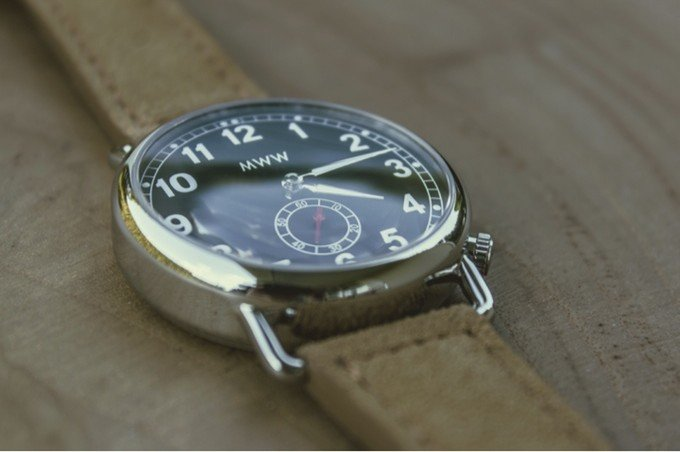 ManchesterWatchWorks Monarch Trench Watch from the Vintage Series