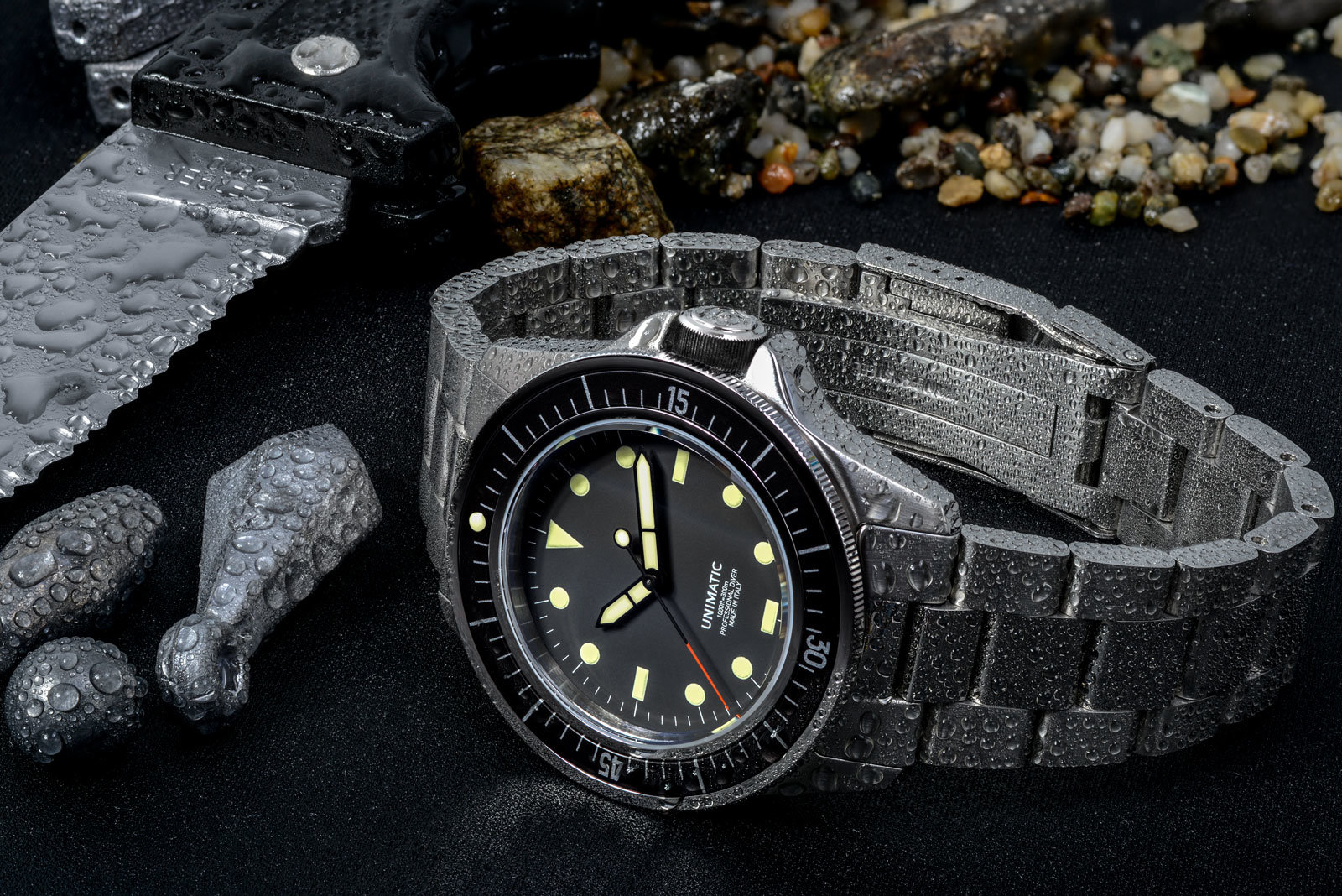 The Modello Uno Professional Dive Watch by Unimatic