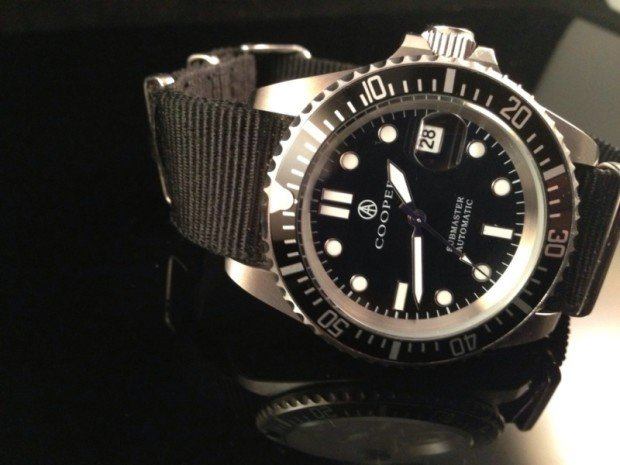 Ready for Duty – Cooper Submaster Automatic Military Divers Watch