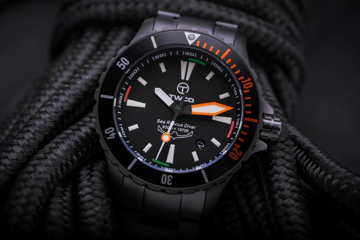 Introducing the Sea Rescue Diver Tactical Model by TWCO Technical Watches