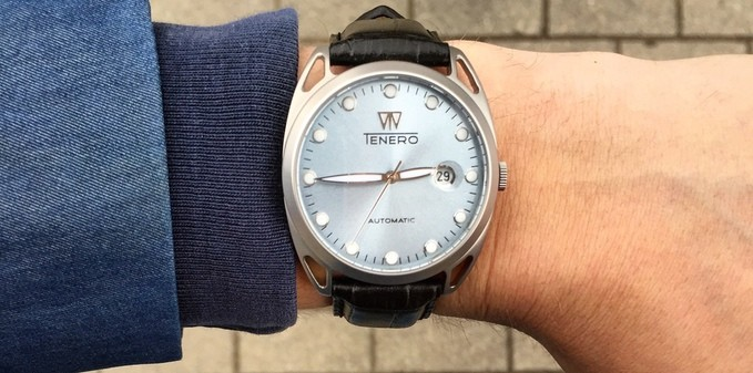 Tenero Automatic Kickstarter watch