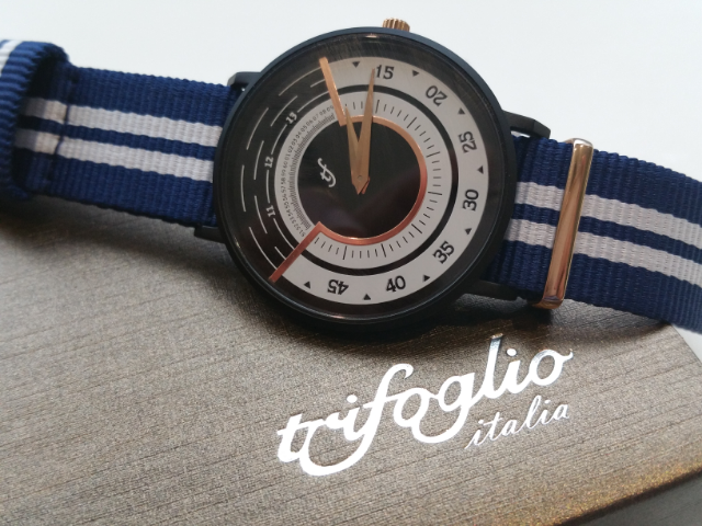 Surprisingly Slim Watches : Radio City by Trifoglio Italia review