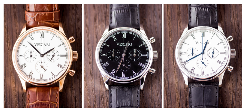 The Heritage Chronograph by Vescari Watch Co.