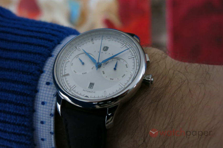 Erroyl Watches Regent Luna triple date hands-on review – WatchPaper