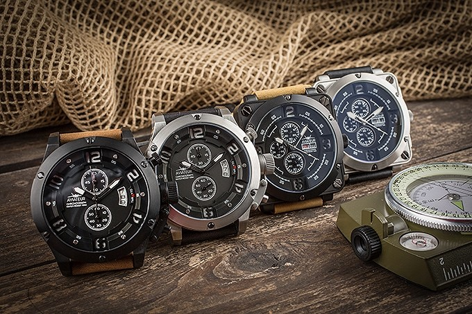 The 1st Aviateur's - Flyback Chronograph Pilot watch