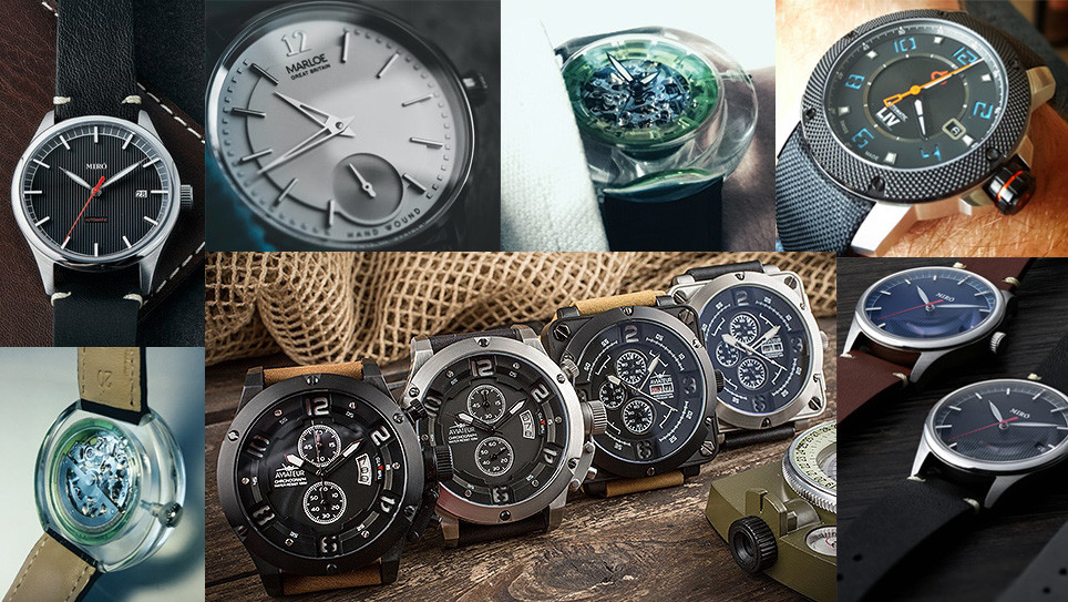 February Kickstarter watches roundup