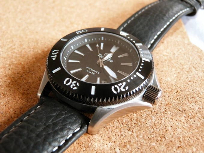 taniwhat watches ururoa dive watch original black dial