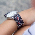 Vario watch straps chromatic blur design