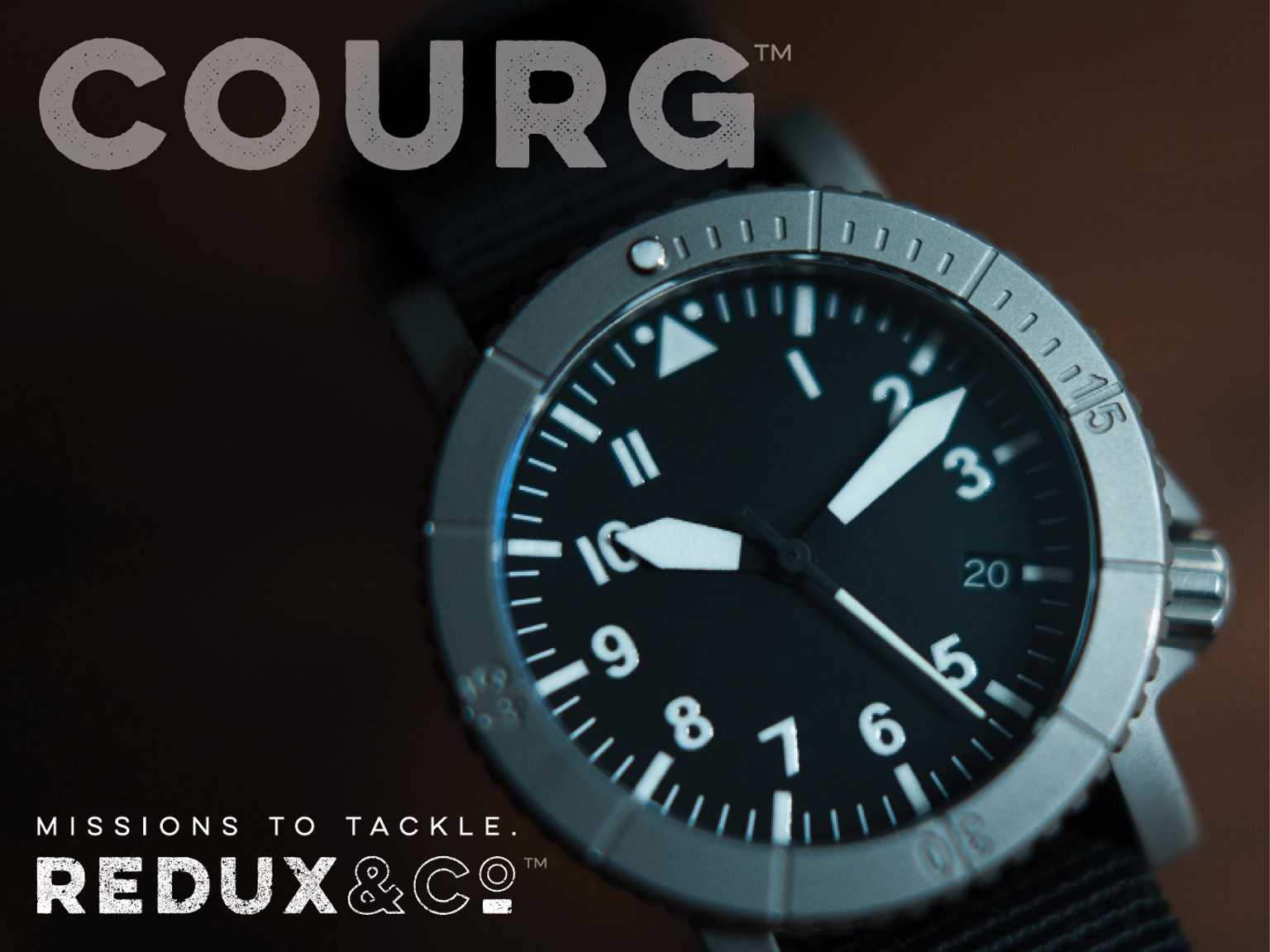 A Courageous Pilot Watch Design – Courg by Redux & Co.