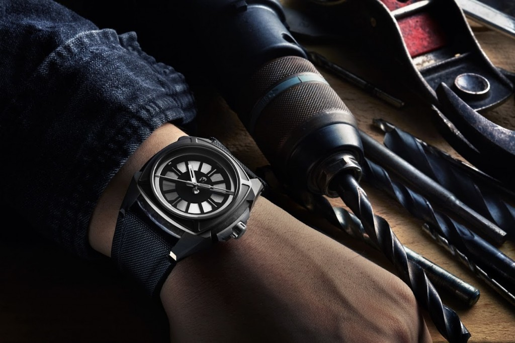 vilhelm watches the elemental gray dial wrist shot