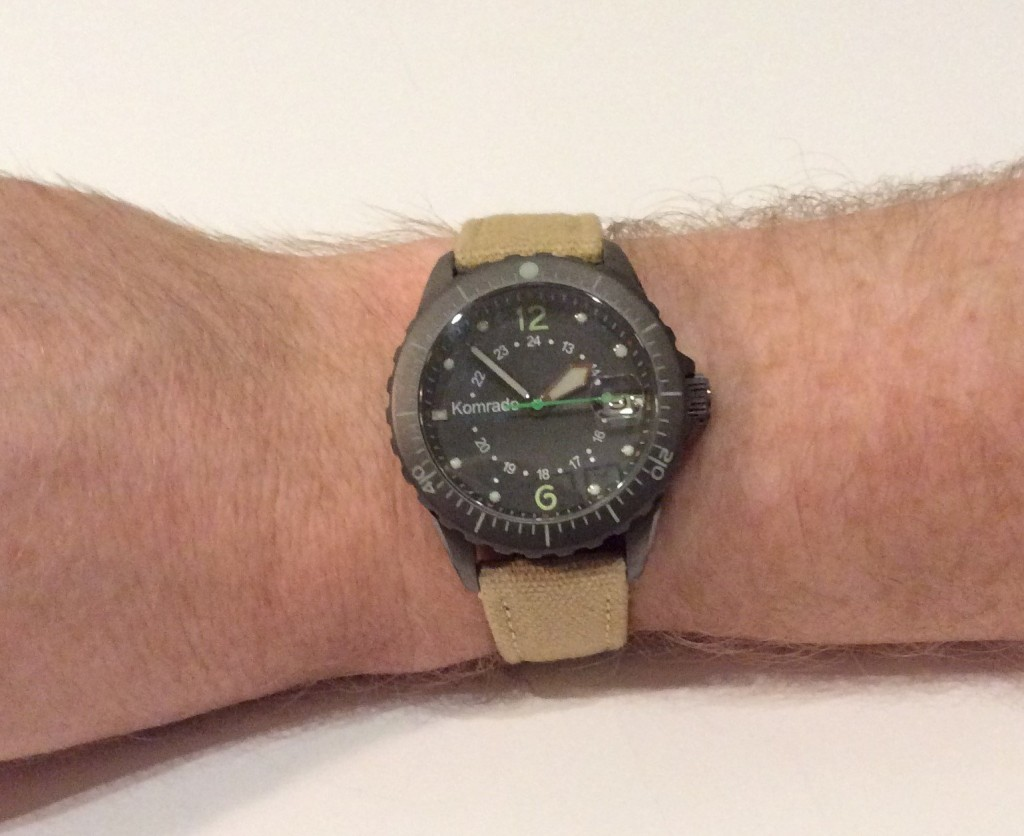 komrade military field watch wrist