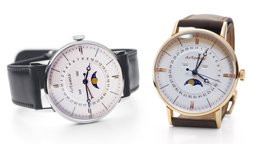 Artemis moonphase watch