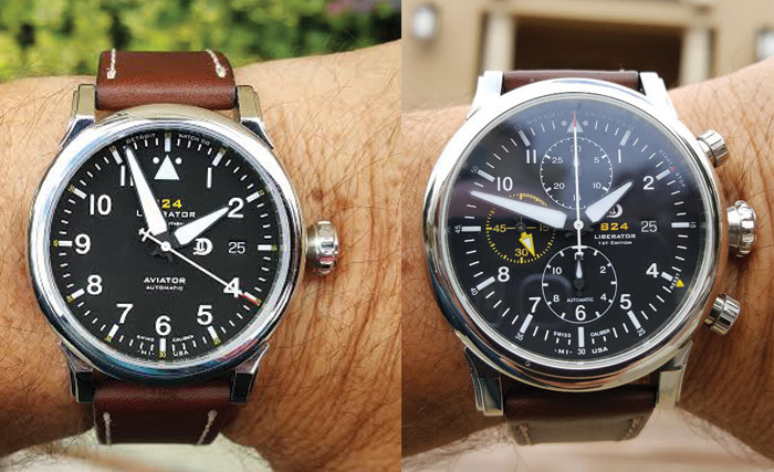 Hands on Review – Detroit Watch Company B24 Liberator Aviator 1st Edition