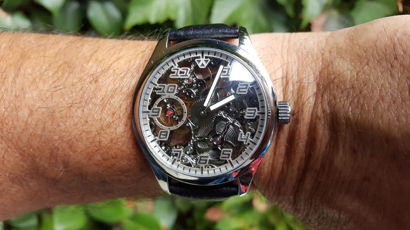 Hands on review – Wilk Watchworks Maki skeleton dress watch