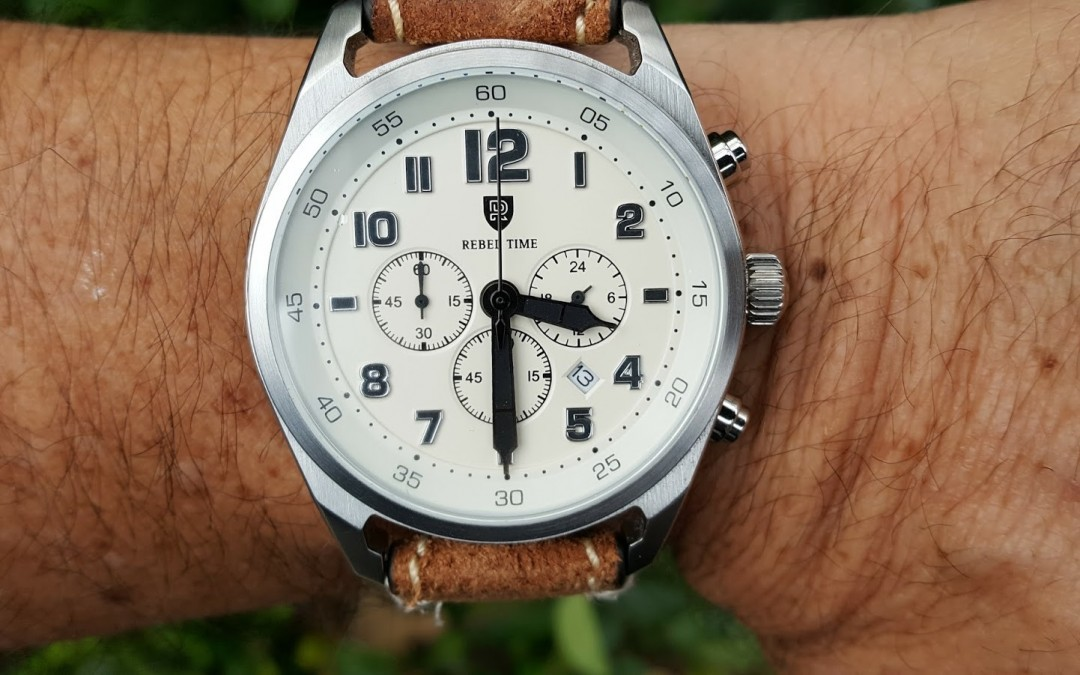 Hands on review – Classic Rebel Time Chrono White