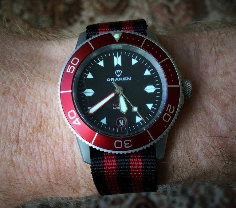 Hands on review – Draken Watches Tugela