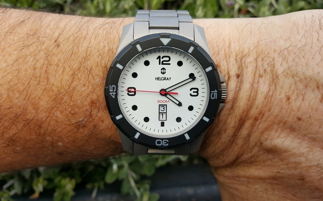 One man's dive watch vision – Helgray TCD-01 Full Lume
