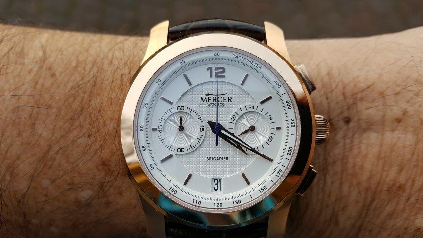 Hands on review – Mercer Brigadier Chronograph