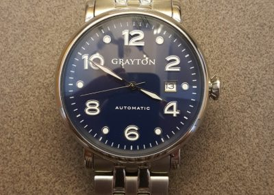 Grayton watch dial