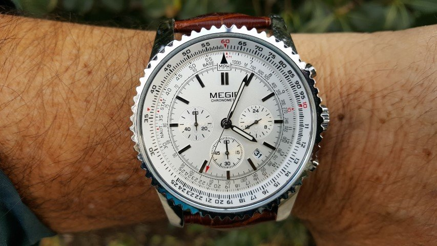 Hands on Review – Megir Chronometer model 2008