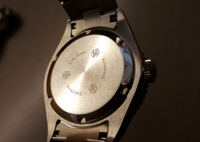NTH Amphion and Näcken watches caseback