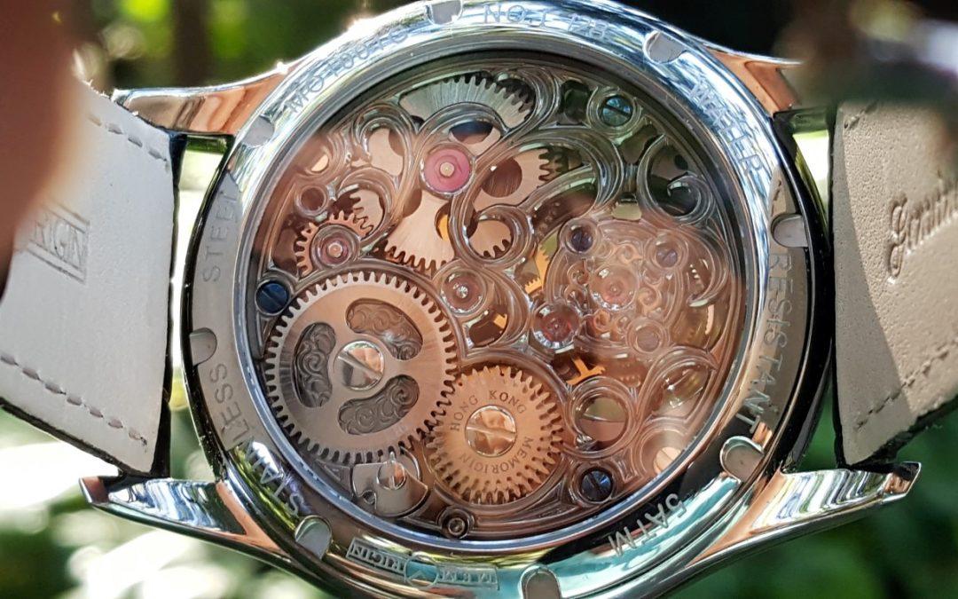 Memorigin Navigator Flying Tourbillon Watch