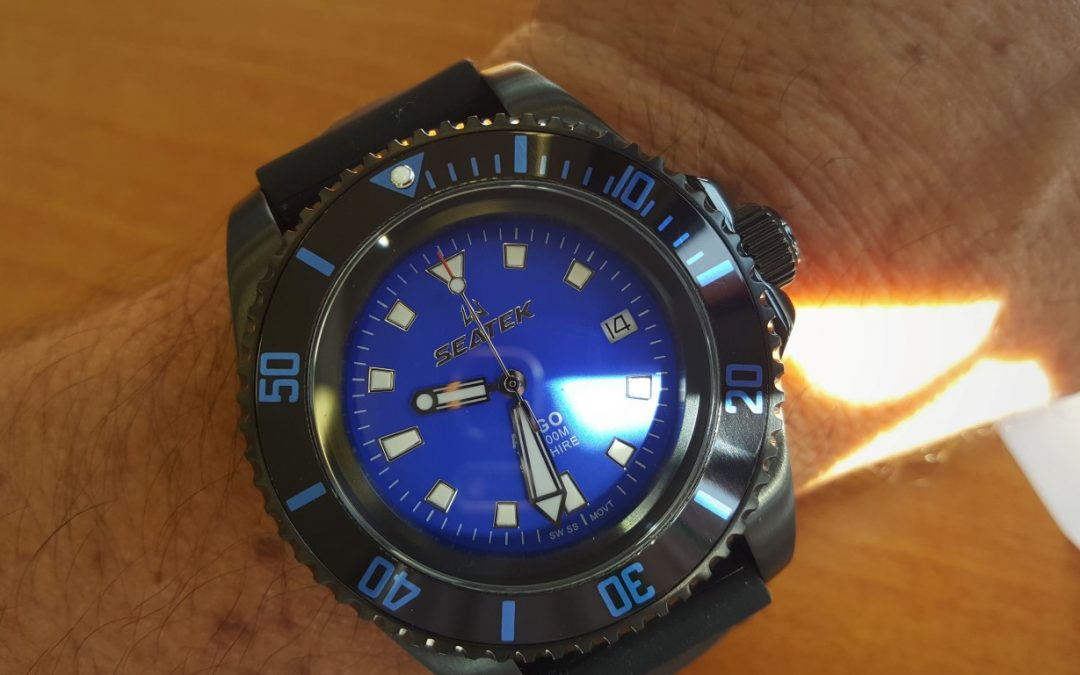 SEATEK ARGO Dive Watch Review