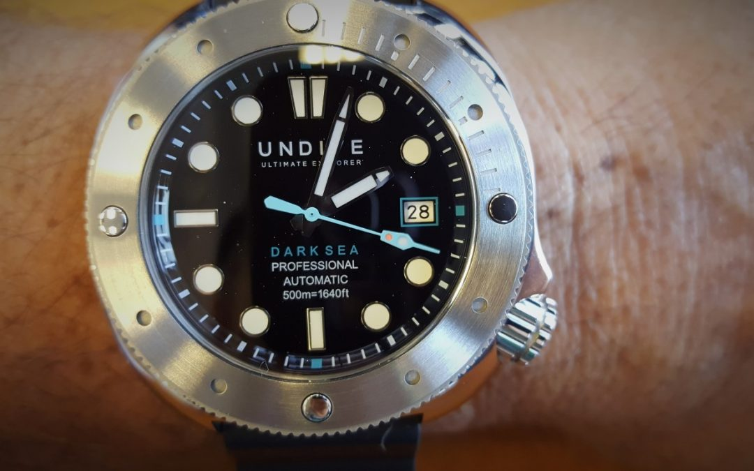 UNDIVE DARK SEA 500m Dive Watch Review