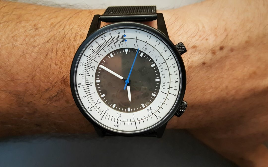 Caliper D1B Slide Rule Watch – Where Old Tech Meets Modern Tech