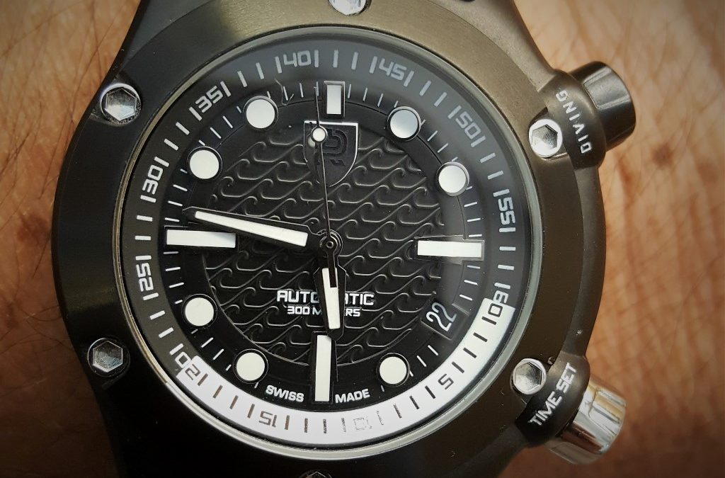 Rebel Aquafin – The first Dive Watch From Rebel Time