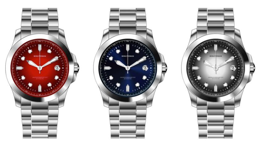 Minuteman Watch Co. releases new series with automatic movements