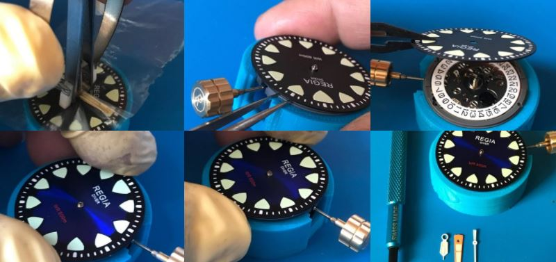 Watch Parts Modification with REGIA Timepieces
