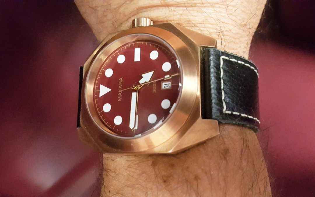 Review – Makara Sea Turtle Bronze Dive Watch