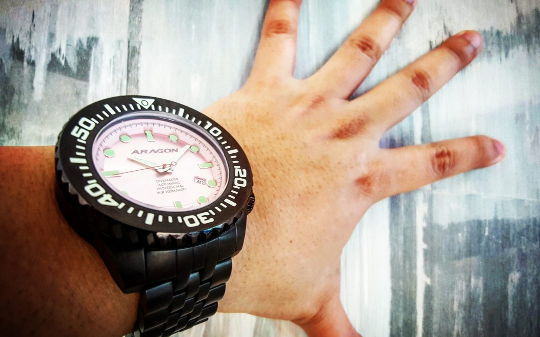 "ARAGON Divemaster EVO, a true ""VALUE for MONEY"" watch"