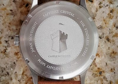 Castle Watch Company Corbel S12 case back 2