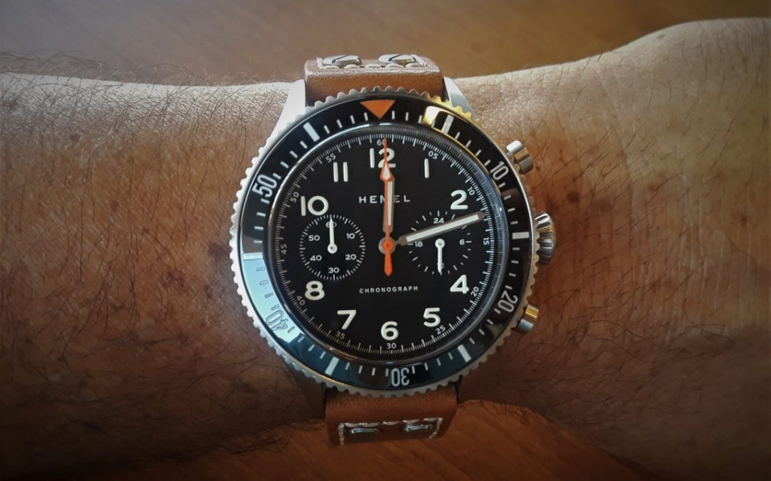 Review – Hemel HFT20/VK64 quartz chronograph