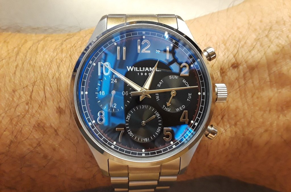 Review – William L Chronograph and Calendar watches