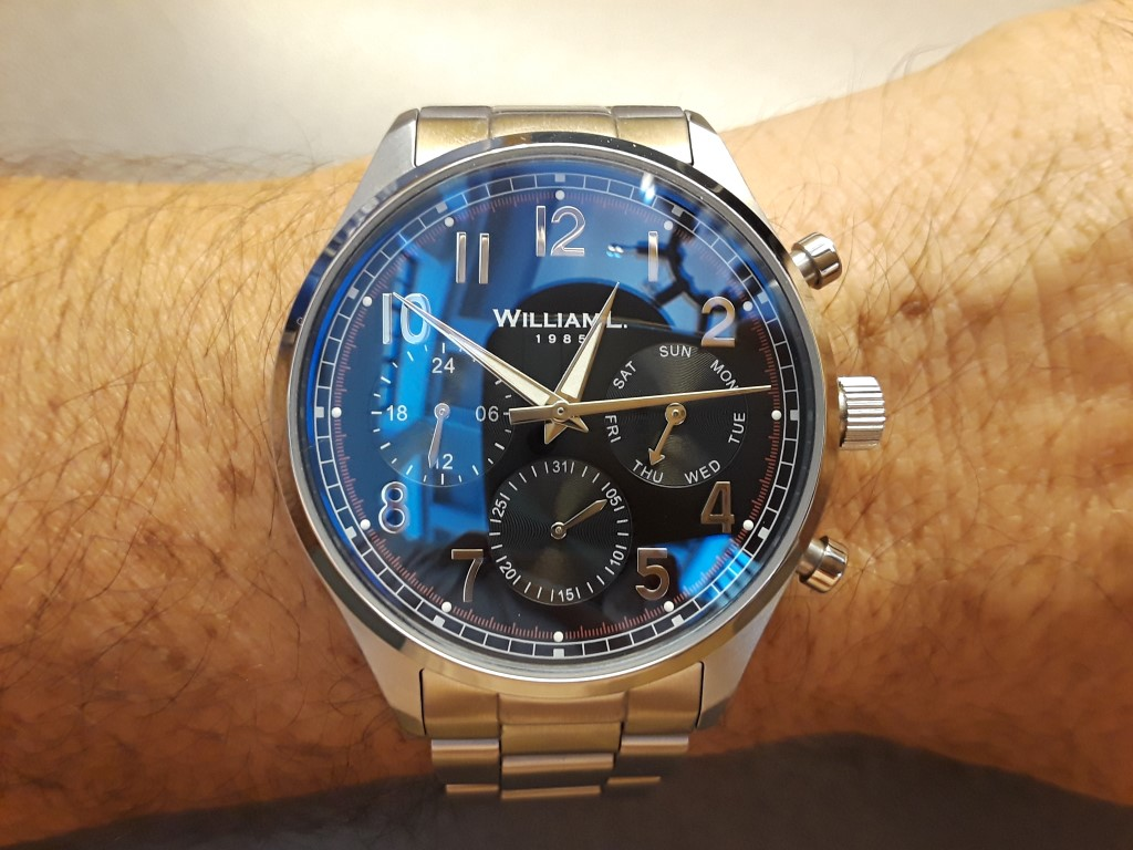 3b84a5e71 Review - William L Chronograph and Calendar watches | Microbrand ...