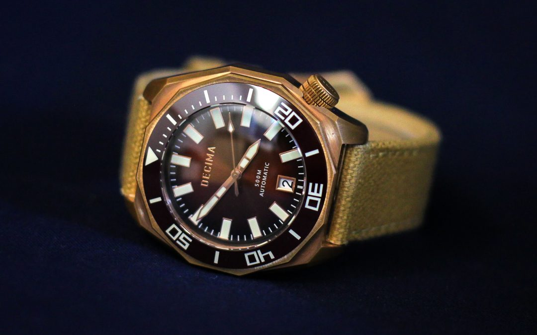 The Scylla Bronze Collection by Decima Watch Co.
