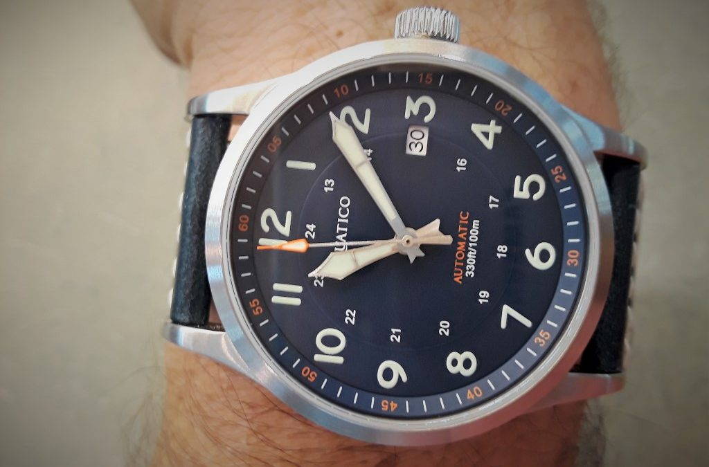 Review – Aquatico Blue Angels Pilot Watch