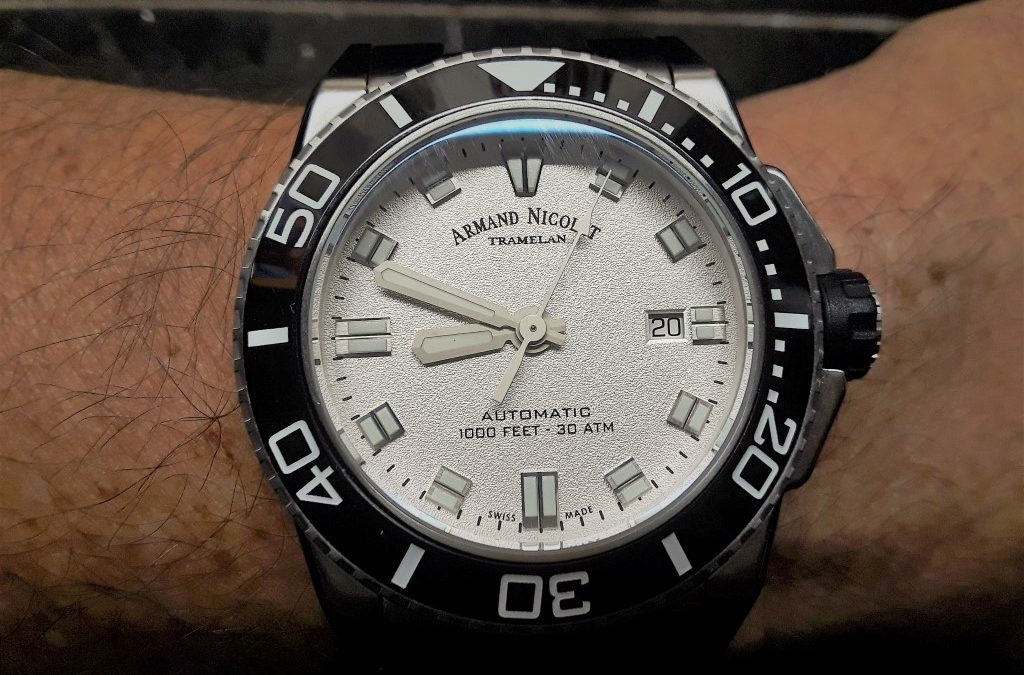 Review – Armand Nicolet, A superb Swiss dress diver