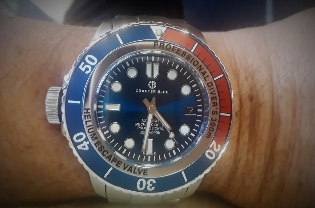 Review – Crafter Blue Professional Diver's Watches