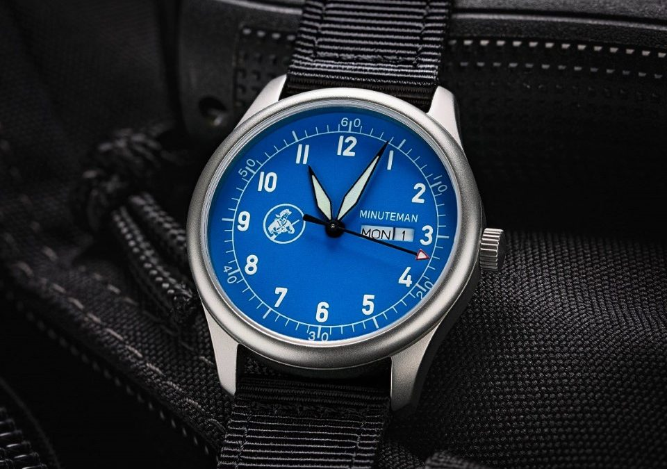 Minuteman Watches Announces New Veterans' Charity Partnership