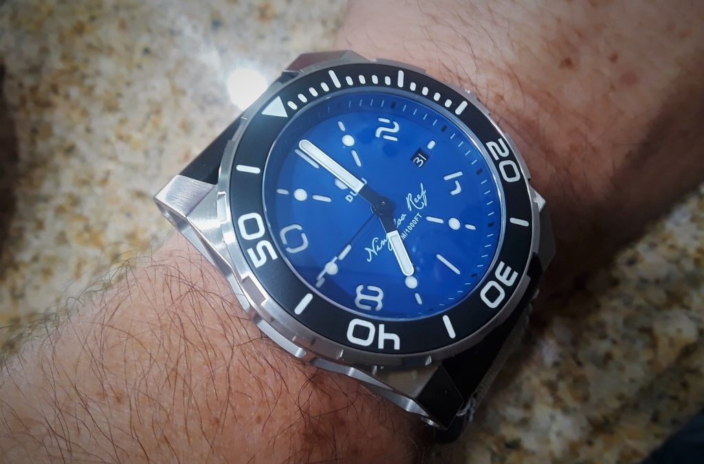 Duzu Ningaloo Reef dive watch review. Could this be the Ultimate Tool Watch?