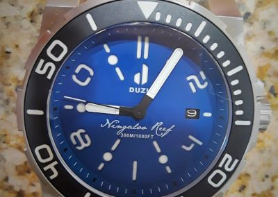Duzu Ningaloo Reef dive watch 05