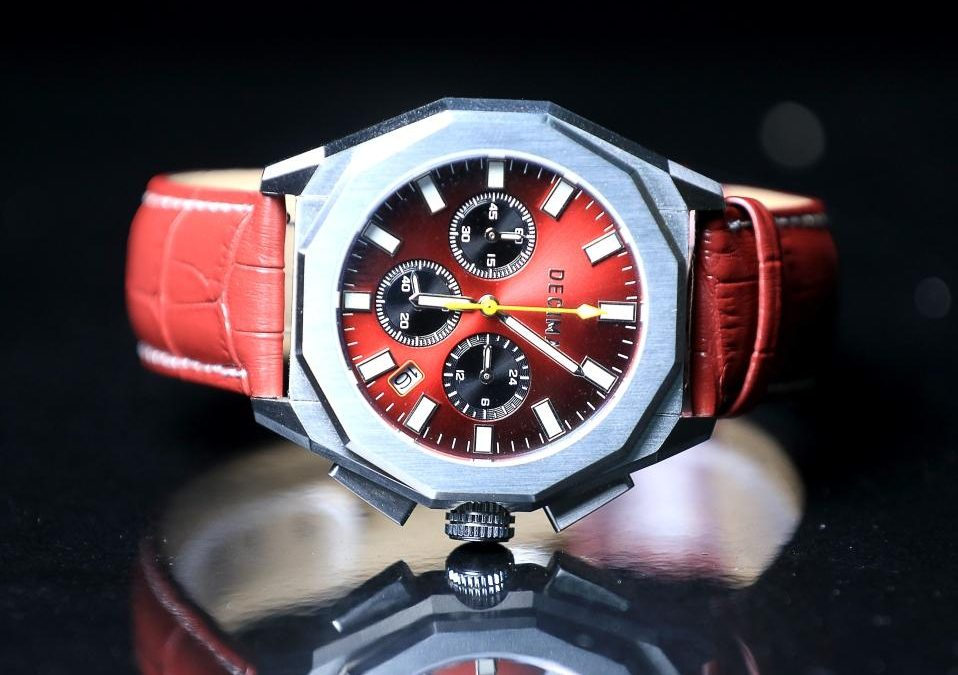 DECIMA Watch Company Presents The Colosseo Chronograph Collection