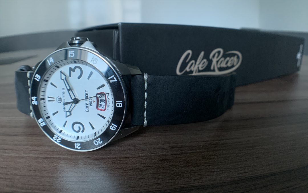 Café Racer, inspired by early 1960s' British motorcycle enthusiasts